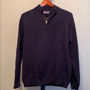 Chaps quarter zip sweater